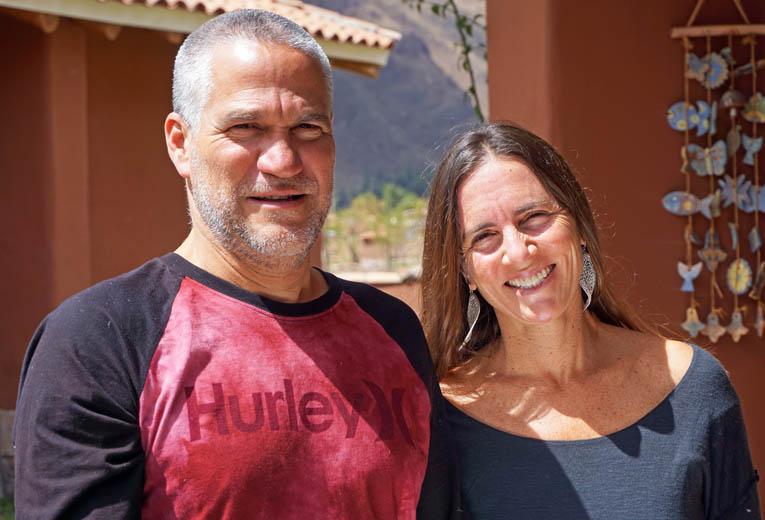 Michele Sas Baumann and Javier Loveday